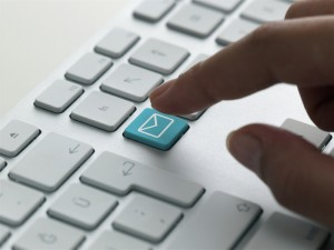 email on keyboard