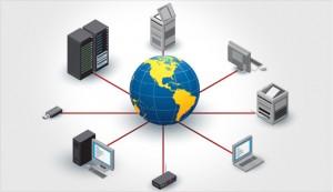 network of devices including printer kansas city